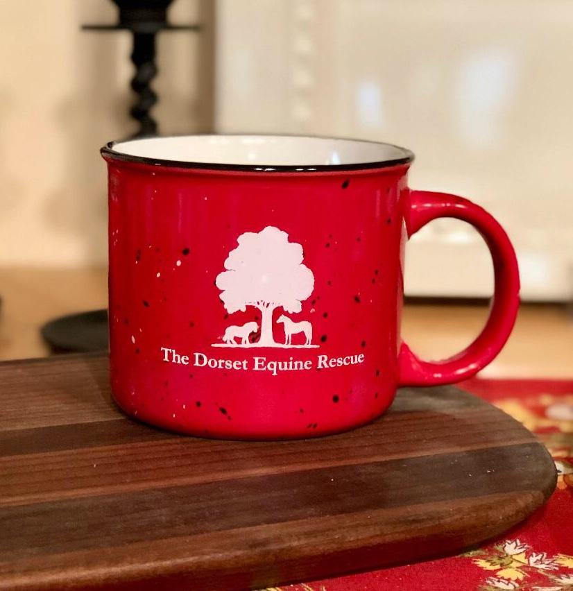 dorset equine rescue logo mug